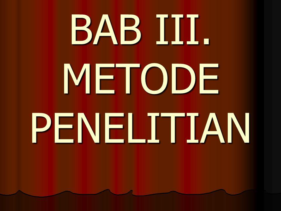 A.DESAIN PENELITIAN B. Setting Penelitian (CAR) C.