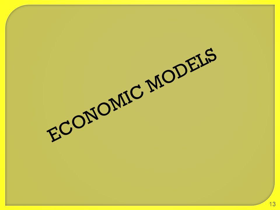 13 ECONOMIC MODELS