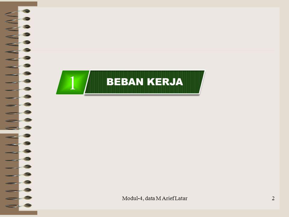 Modul-4, data M Arief Latar13 2