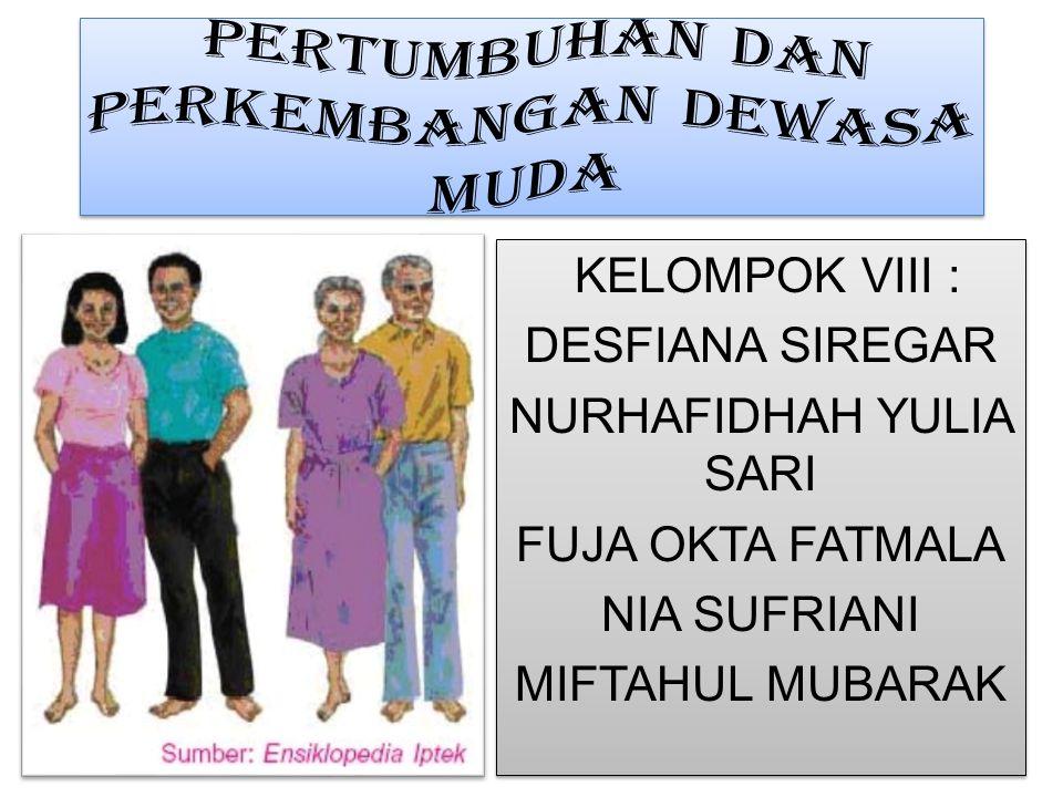KELOMPOK VIII : DESFIANA SIREGAR NURHAFIDHAH YULIA SARI FUJA OKTA FATMALA NIA SUFRIANI MIFTAHUL MUBARAK KELOMPOK VIII : DESFIANA SIREGAR NURHAFIDHAH Y