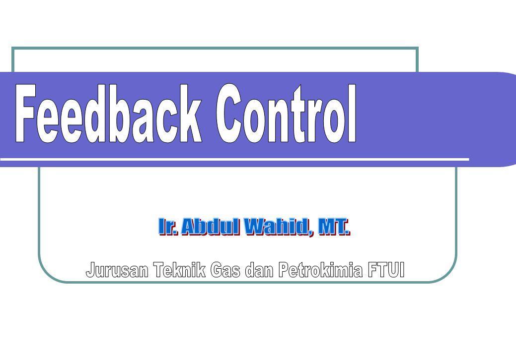 22 PI Control Efek konstanta waktu integral dan gain kontroler pada dinamik lup-tertutup Periode natural dari osilasi Koefisien redaman Konstanta waktu integral dan gain kontroler akan menyebabkan terjadinya osilasi dan merubah periode osilasi