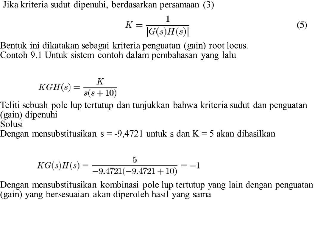 Dengan memvisualisasikan secara grafis maka pengertian persamaan 6 akan lebih jelas.