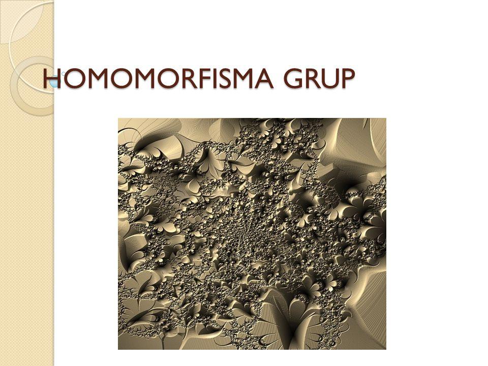 Teorema VII.5 Misalkan f : G  H homomorfisma grup dengan inti Ker(f) dan peta f(G).