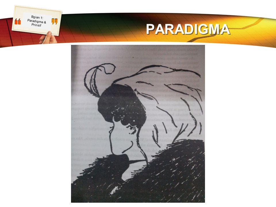 LOGO PARADIGMA Bgian 1: Paradigma & Prinsif