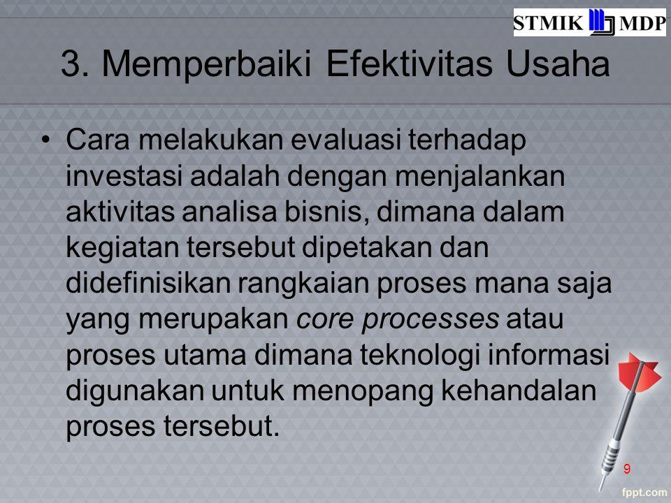 Matriks Kategori Manfaat (Benefit) 20