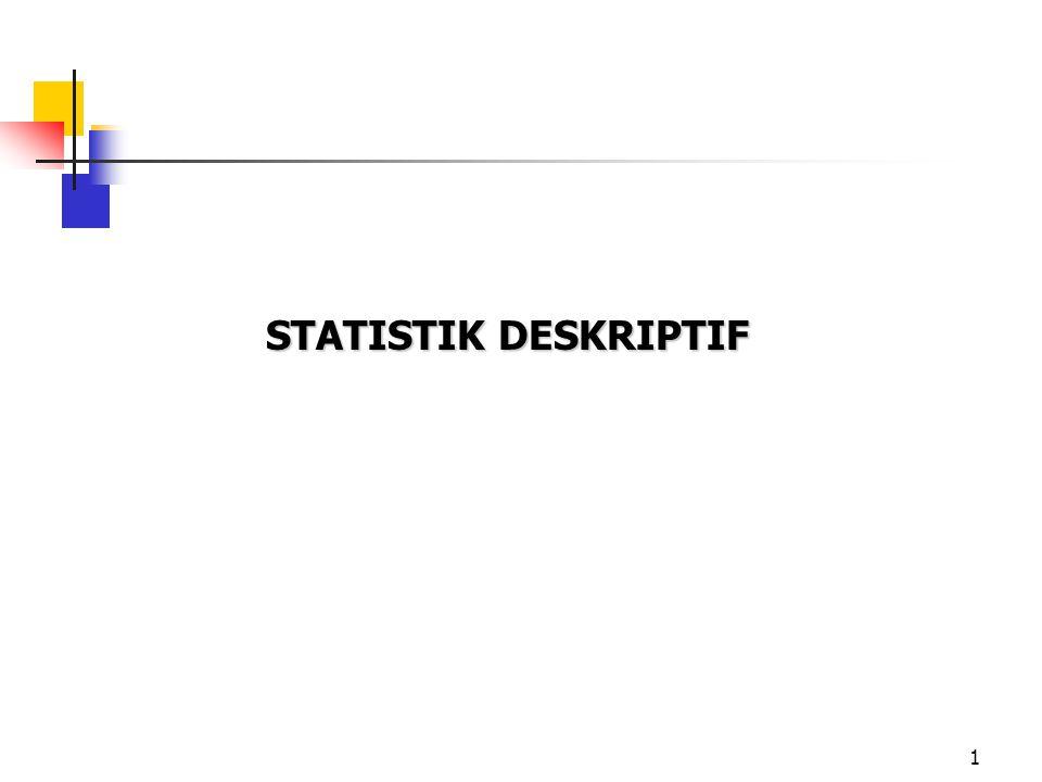 1 STATISTIK DESKRIPTIF