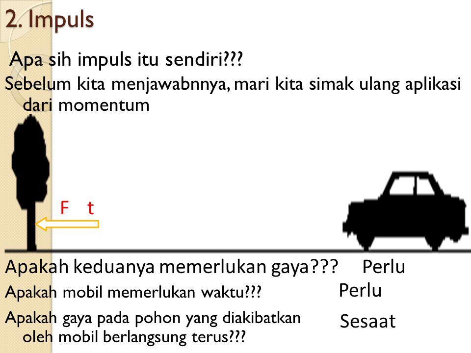 2. Impuls Apa sih impuls itu sendiri??.