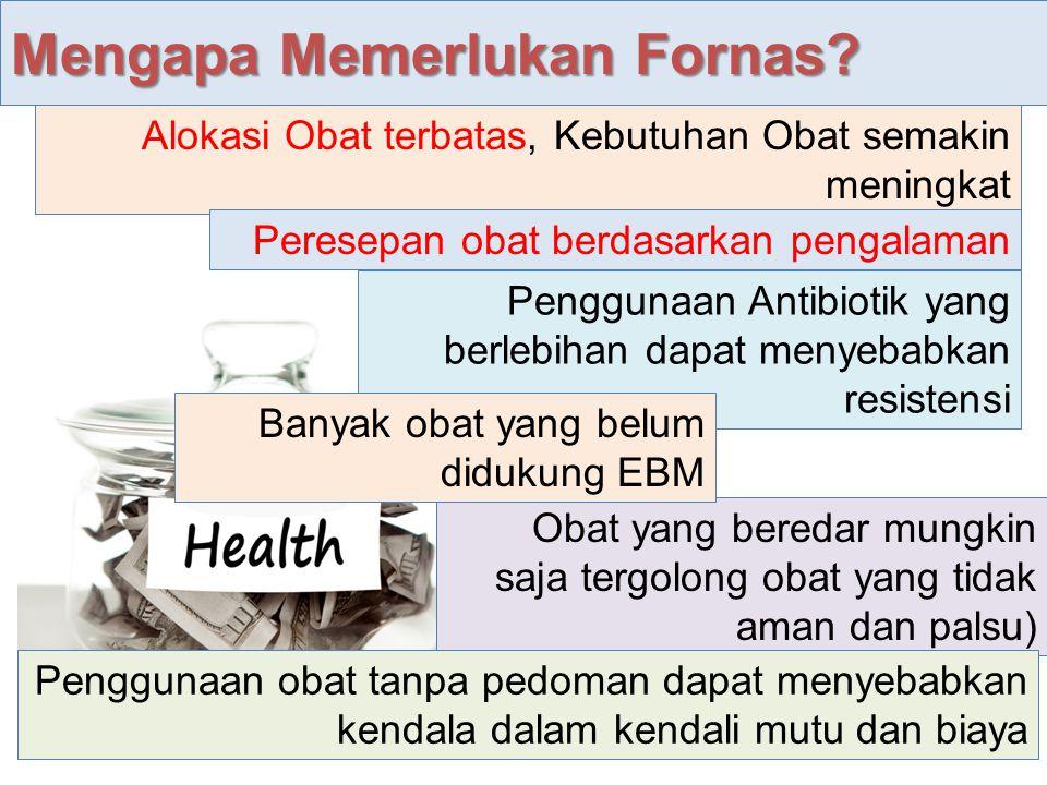 Daftar obat terpilih yang dibutuhkan dan harus tersedia di fasilitas pelayanan kesehatan sebagai acuan dalam pelaksanaan JKN.