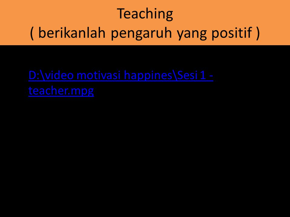 Modelling & Mentoring,Organizing D:\video motivasi happines\biola.flv
