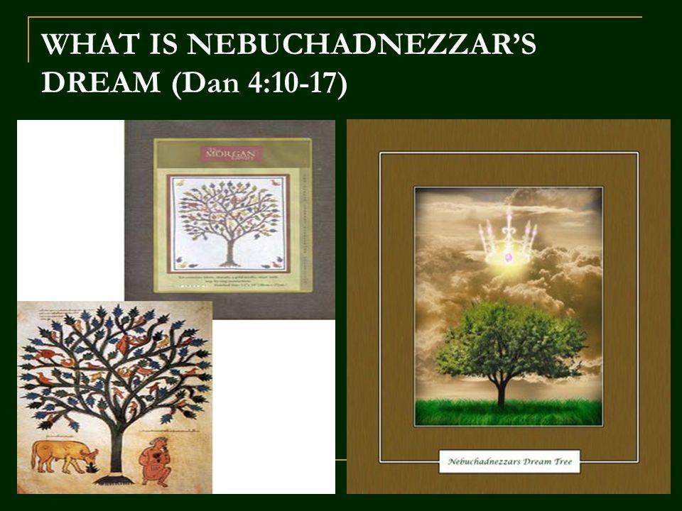Penggenapan Mimpi Mengapa Nebukadnesar tidak dibunuh saja atau para pembesar mengangkat raja baru.
