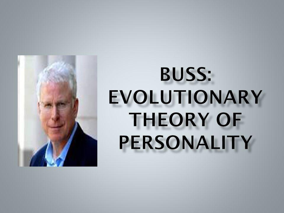  Secara umum, evolusi adalah interaksi antara biologi dan lingkungan ( nature dan nurture )  Sehingga, faktor-faktor biologis dan lingkungan menjadi tidak dapat dipisahkan  Di tahap awal evolusi, beberapa individu memiliki kualitas yang bekerja dengan baik di dalam lingkungan, sehingga membuat mereka lebih mampu bertahan hidup dan bereproduksi  Salah satu asumsi dasar dari teori kepribadian evolusi adalah kualitas-kualitas adaptif tersebut mencakup kecenderungan yang unik dan konsisten untuk berperilaku dengan cara tertentu dalam konteks tertentu, yang disebut trait kepribadian