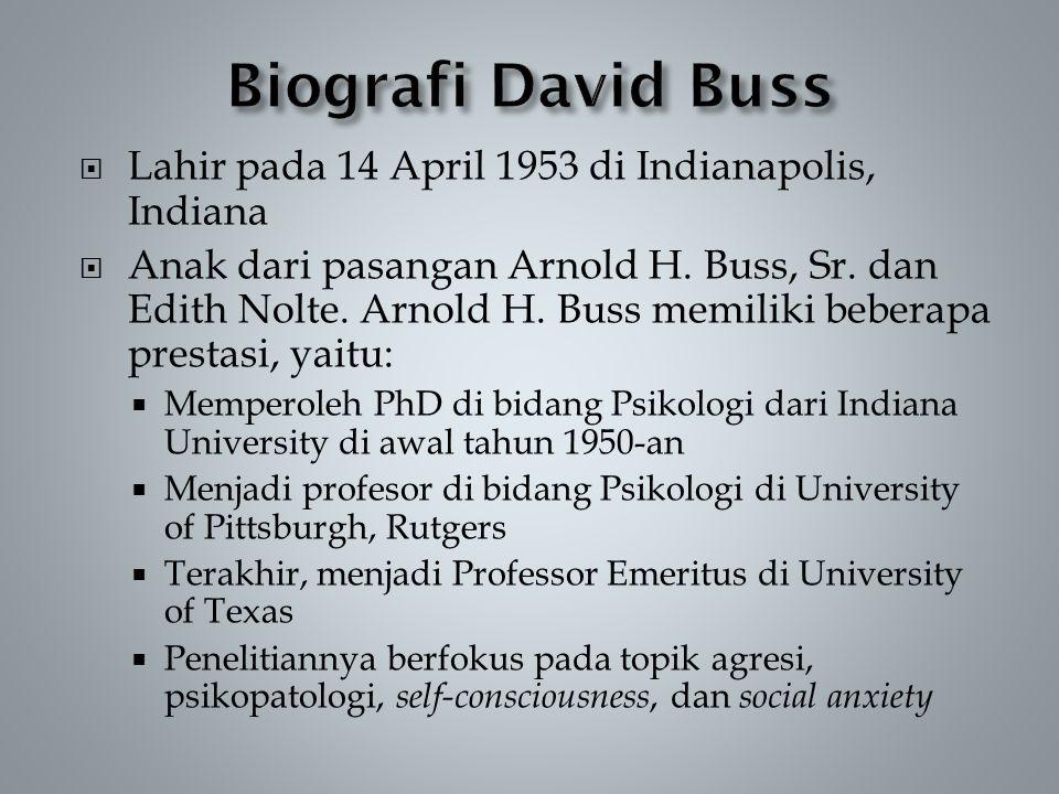 Lahir pada 14 April 1953 di Indianapolis, Indiana  Anak dari pasangan Arnold H.