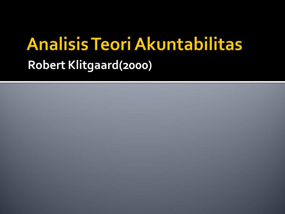 Robert Klitgaard(2000)