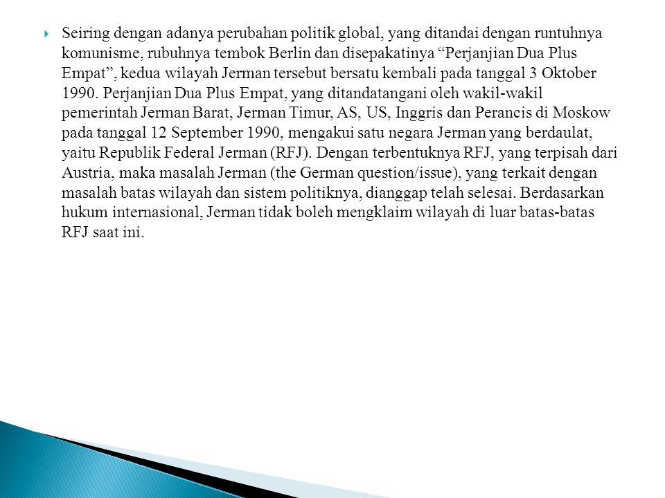  RFJ adalah negara demokrasi yang berbentuk federasi dan terdiri dari 16 negara bagian (Lander).