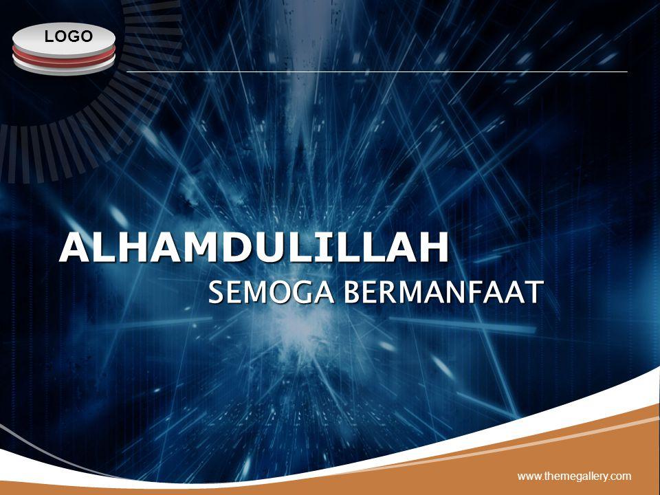 LOGO ALHAMDULILLAH www.themegallery.com SEMOGA BERMANFAAT