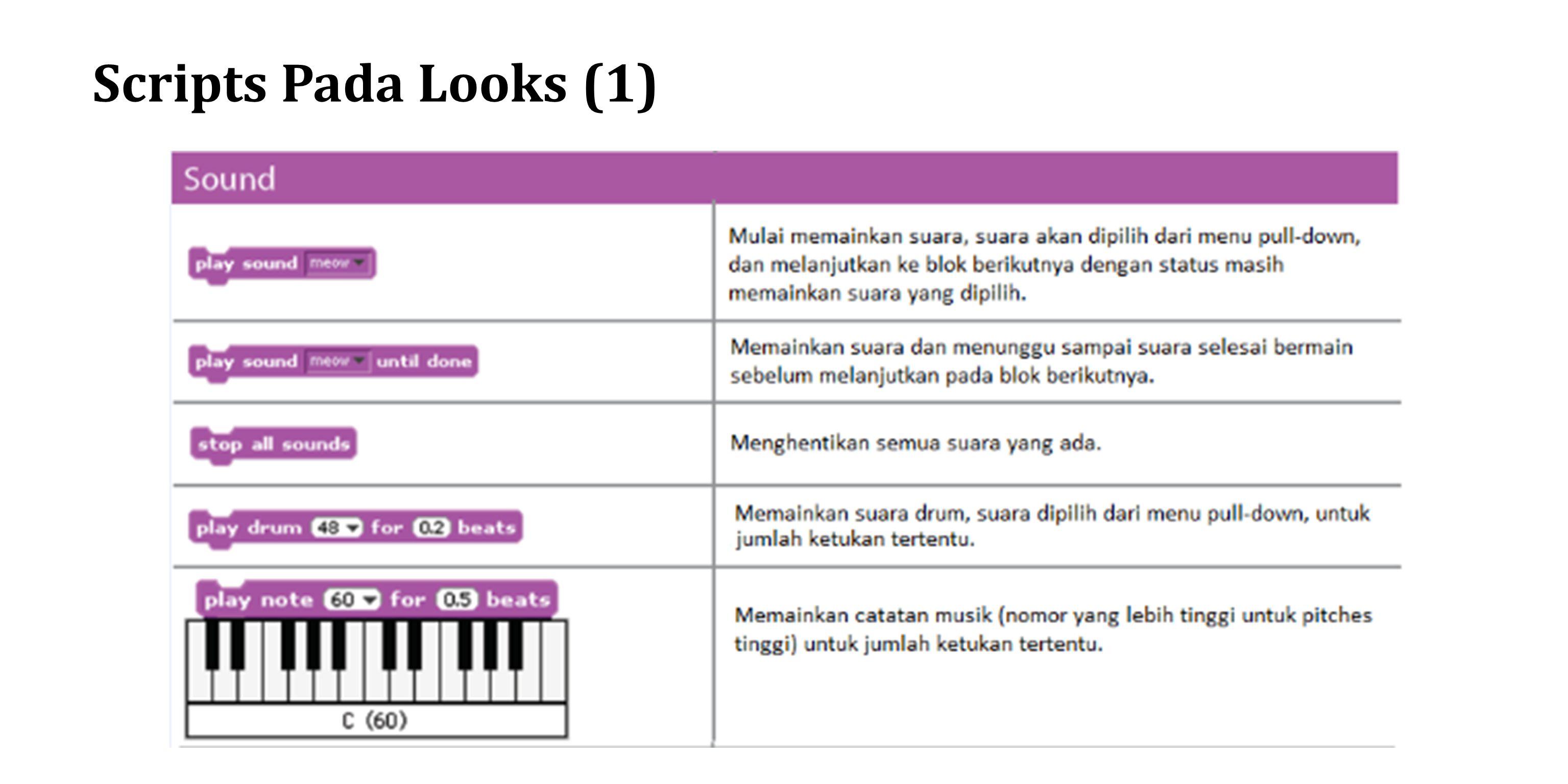 Scripts Pada Looks (2)