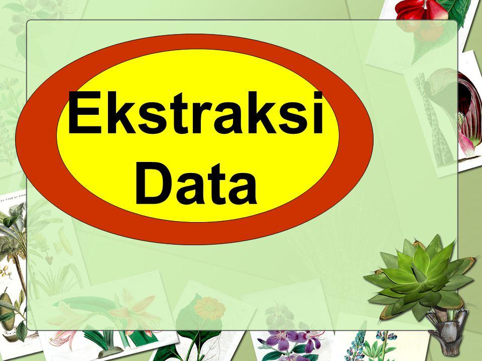 Ekstraksi Data