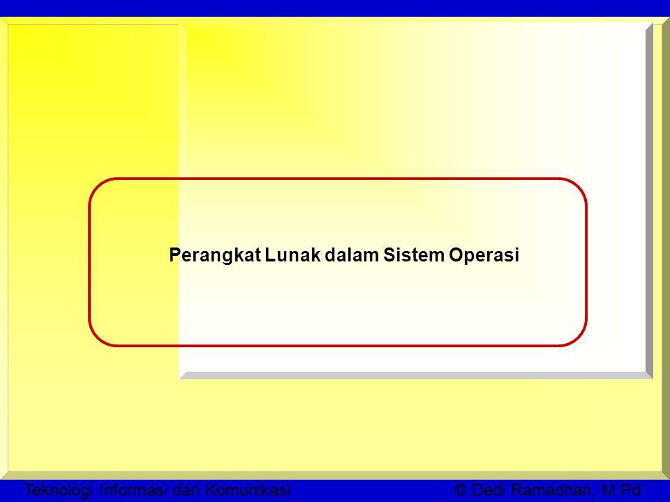 Perangkat Lunak dalam Sistem Operasi