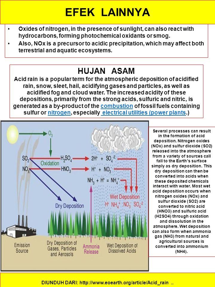 EFEK LAINNYA DIUNDUH DARI: http://www.eoearth.org/article/Acid_rain..