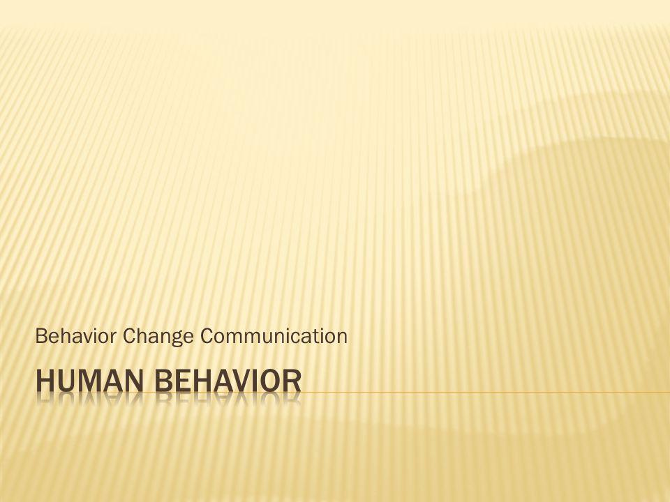 Behavior Change Communication