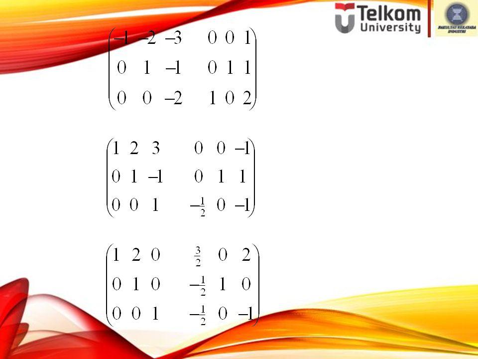 B 1(-1) B 3(-1/2) ~ B 13(-3) B 23(1) ~ B 12 (-2) ~