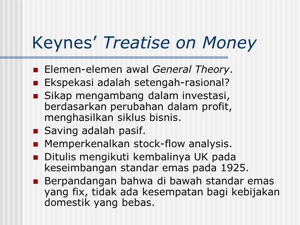 Paul Samuelson (1915- ) 1970, peraih nobel ekonomi pertama dari American Textbook, Economics PhD, Harvard Phillips Curve dengan Solow u u wage inflation Consumer price inflation Phillips' curve Samuelson-Solow Curve