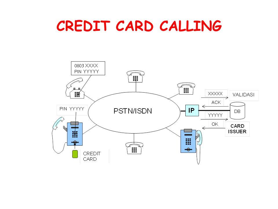 CREDIT CARD CALLING