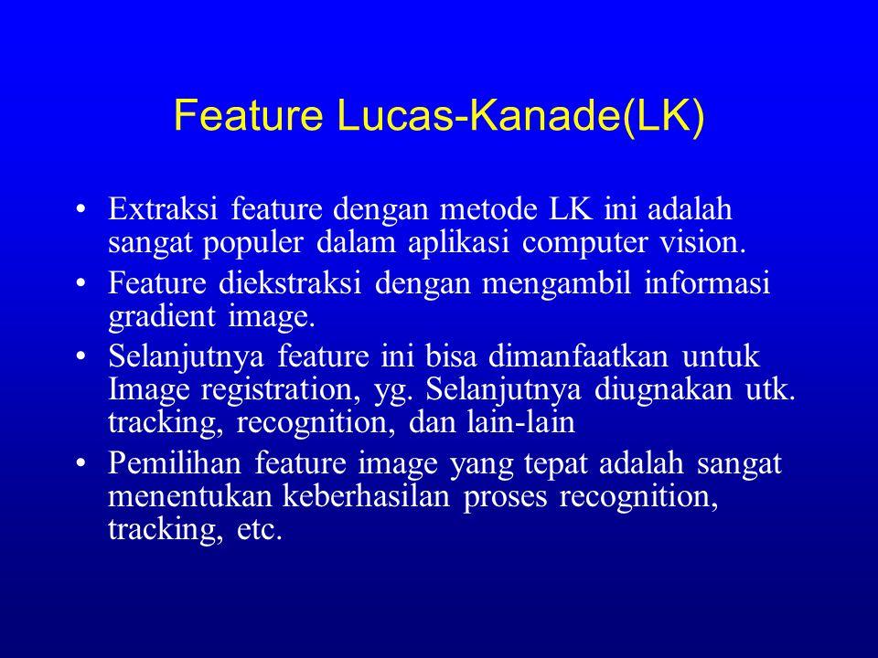 Image Registration & Tracking dengan Metode Lucas & Kanade Sumber: -Forsyth & Ponce Chap. 19, 20 -Tomashi & Kanade: Good Feature to Track