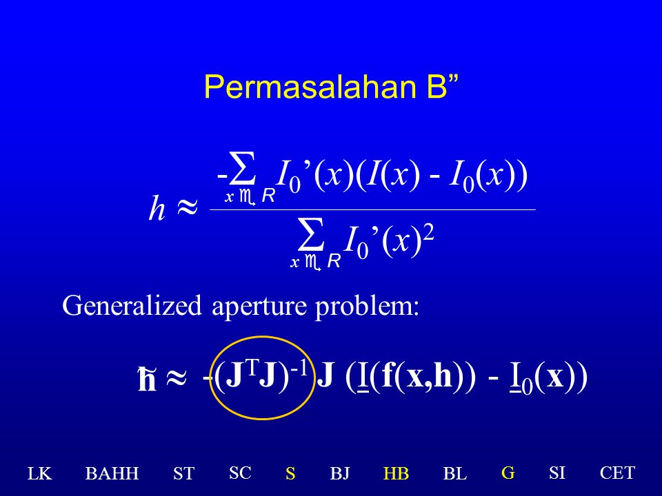 Generalisasi 2c Other parametrized transformations