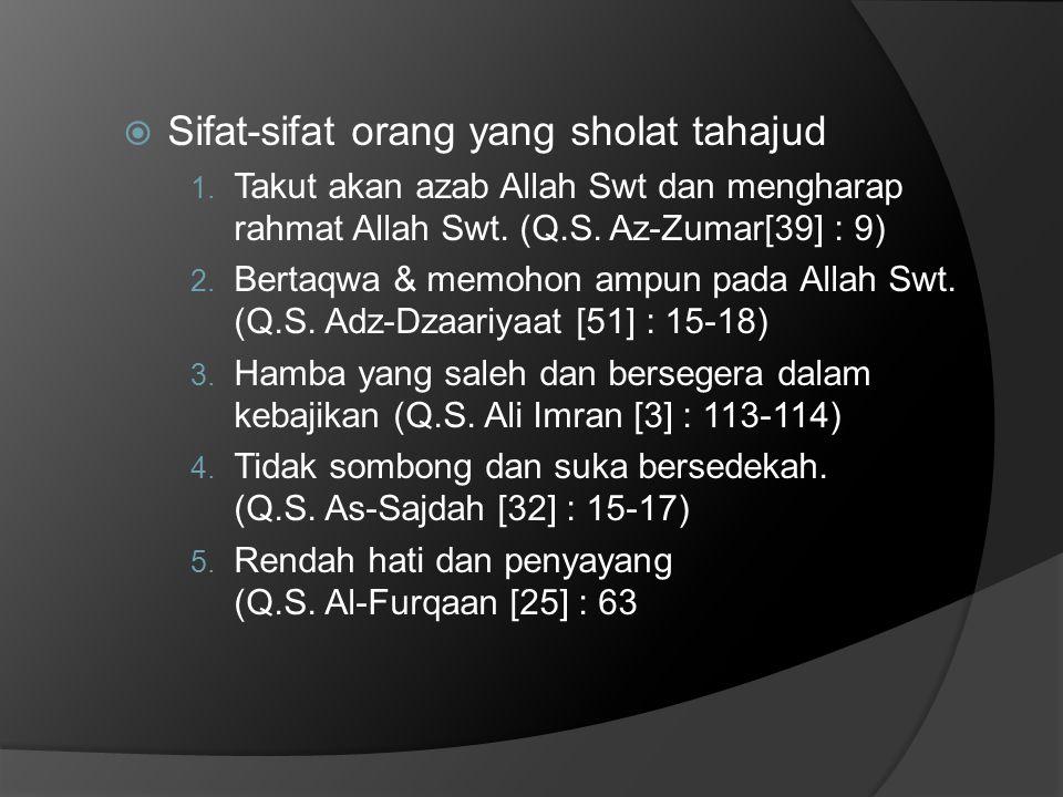 4.Bukti kemenangan melawan setan.