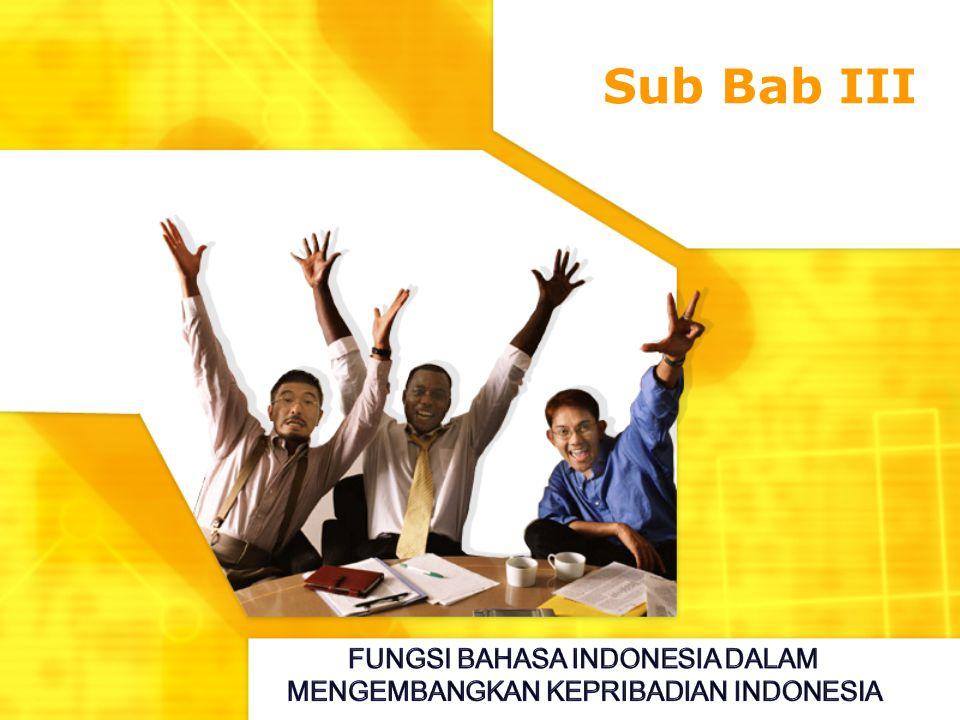 Sub Bab III