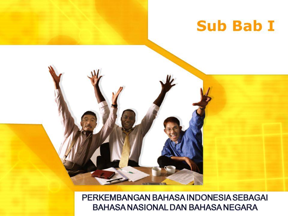 Sub Bab I