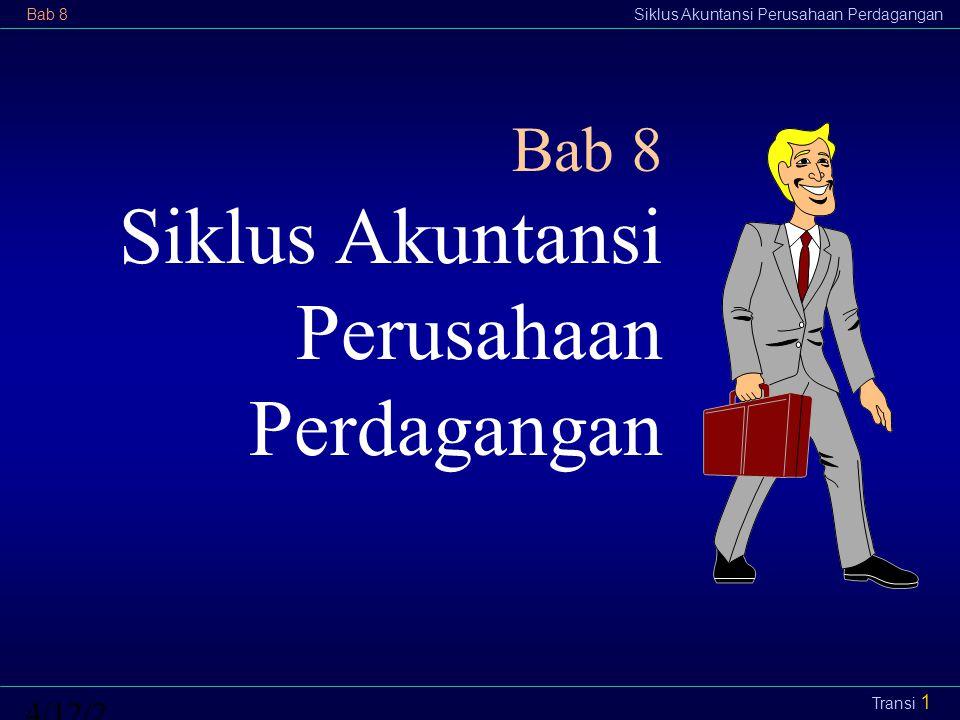 Bab 8Siklus Akuntansi Perusahaan Perdagangan4/12/2015 Transi 1 Bab 8 Siklus Akuntansi Perusahaan Perdagangan