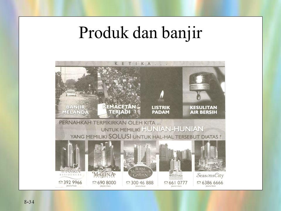8-34 Produk dan banjir