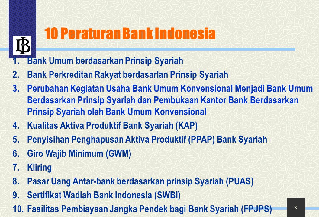 34 Peserta & Piranti PUAS o Peserta  Bank Umum Syariah / Unit Usaha Syariah  dapat menerima & / menanamkan dana  Bank Umum Konvensional  hanya dapat menanamkan dana o Piranti Sertifikat Investasi Mudharabah Antar-bank (IMA)