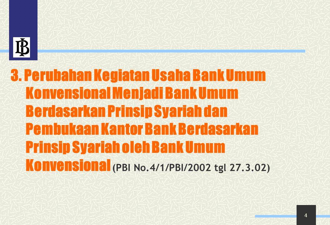 15 Penilaian kualitas didasarkan kepada kemampuan membayar angsuran sebagaimana diterapkan bank konvensional.