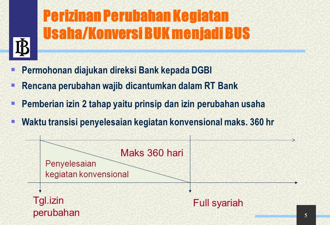 46 Perhitungan Imbalan X = besarnya imbalan FPJPS kepada BI P = nilai nominal FPJPS R = tk realisasi imbalan deposito investasi mudharabah sebelum didistribusikan Bank Syariah penerima FPJPS t = jangka waktu FPJPS k = nisbah bagi hasil untuk BI (90%) X = P x R x t/360 x k