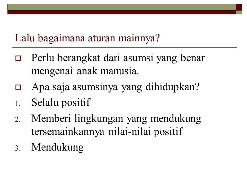 Lanjutan  Bersikap moderat ( tawa>suth ) dan seimbang ( tawa>zun ) (QS.