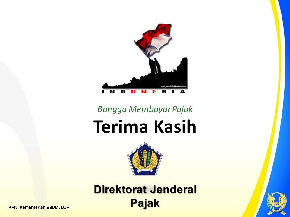 KPK, Kementerian ESDM, DJP Bangga Membayar Pajak Terima Kasih Direktorat Jenderal Pajak