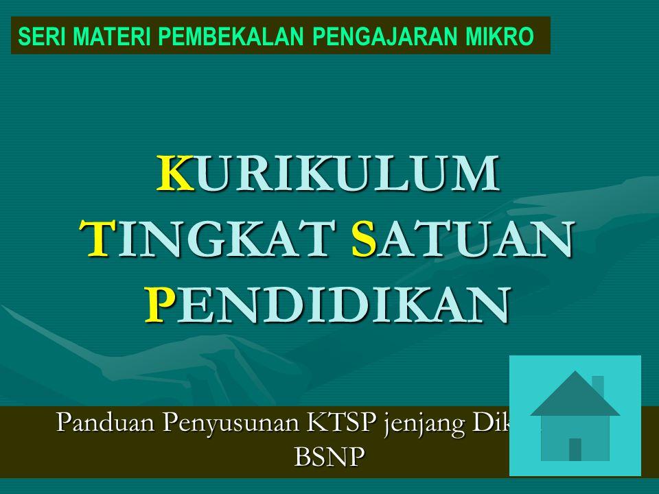 Landasan & Acuan Penyusunan & Pengembangan KTSP UU No.