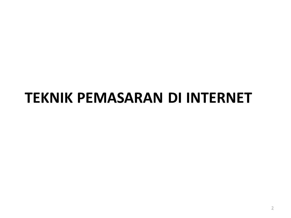 TEKNIK PEMASARAN DI INTERNET 2