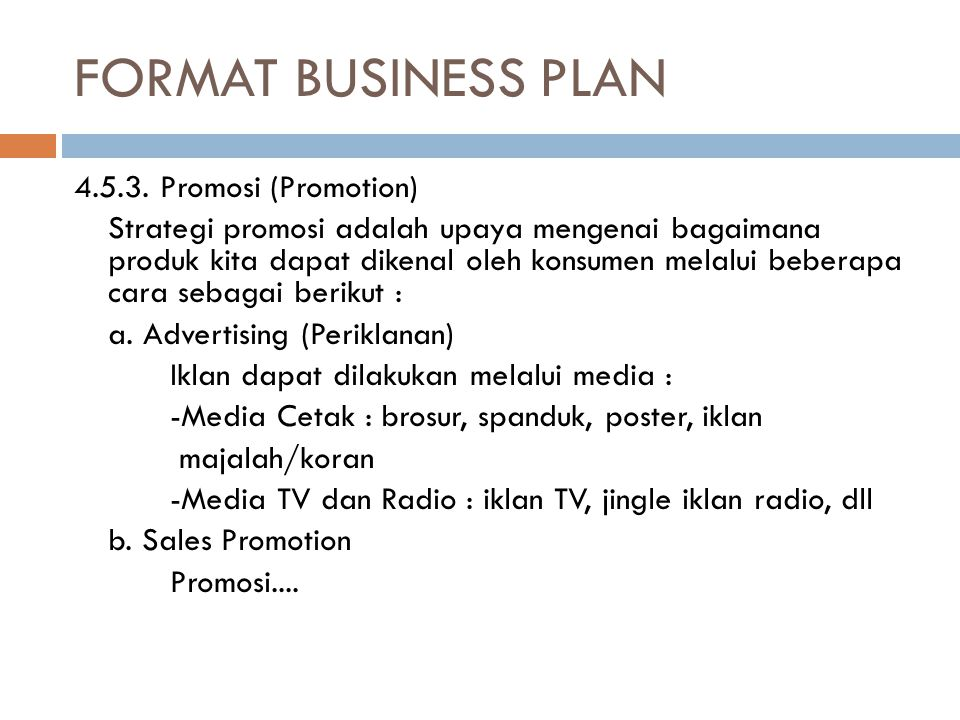 FORMAT BUSINESS PLAN 4.5.3.
