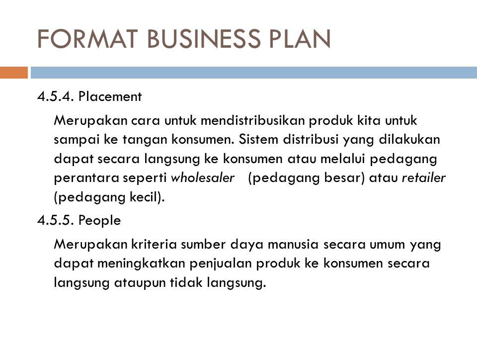 FORMAT BUSINESS PLAN 4.5.4.