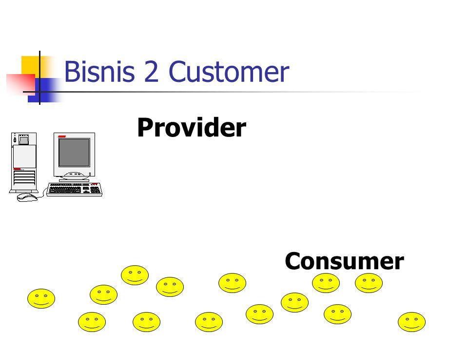 Bisnis 2 Customer Provider Consumer
