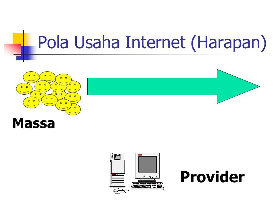 Pola Usaha Internet (Harapan) Provider Massa