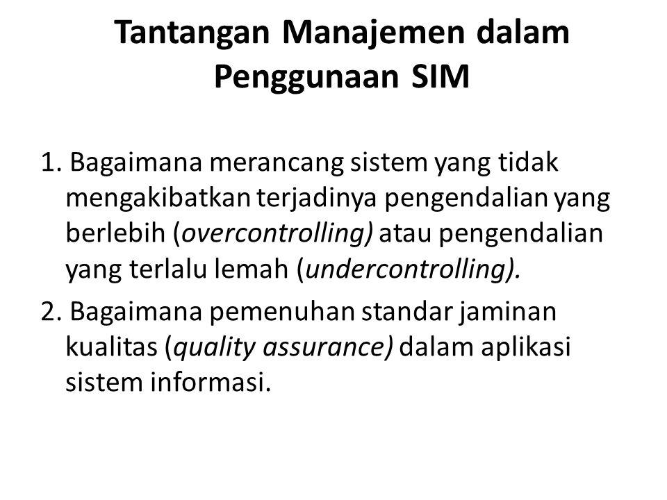 1. Bagaimana merancang sistem yang tidak mengakibatkan terjadinya pengendalian yang berlebih (overcontrolling) atau pengendalian yang terlalu lemah (u