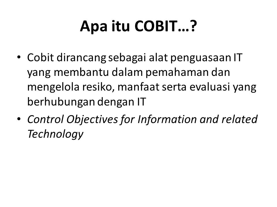 Governance of Enterprise IT COBIT 5 IT Governance C OBI T4.0/4.1 Management C OBI T3 Control C OBI T2 An business framework from ISACA, at www.isaca.org/cobit Audit C OBI T1 COBIT 5: Now One Complete Business Framework for 2005/720001998 Evolution of scope 1996 2012 Val IT 2.0 (2008) Risk IT (2009) 8 © 2012 ISACA ® All rights reserved.