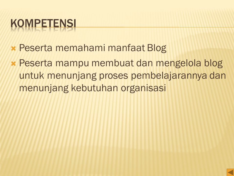  Settings, adalah menu pengaturan blog Anda. General, setting umum seperti judul blog Anda.