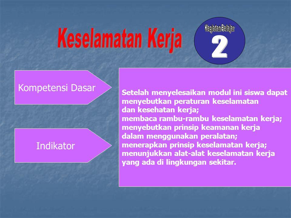 Hal-hal yang berhubungan dengan keselamatan kerja (6T)