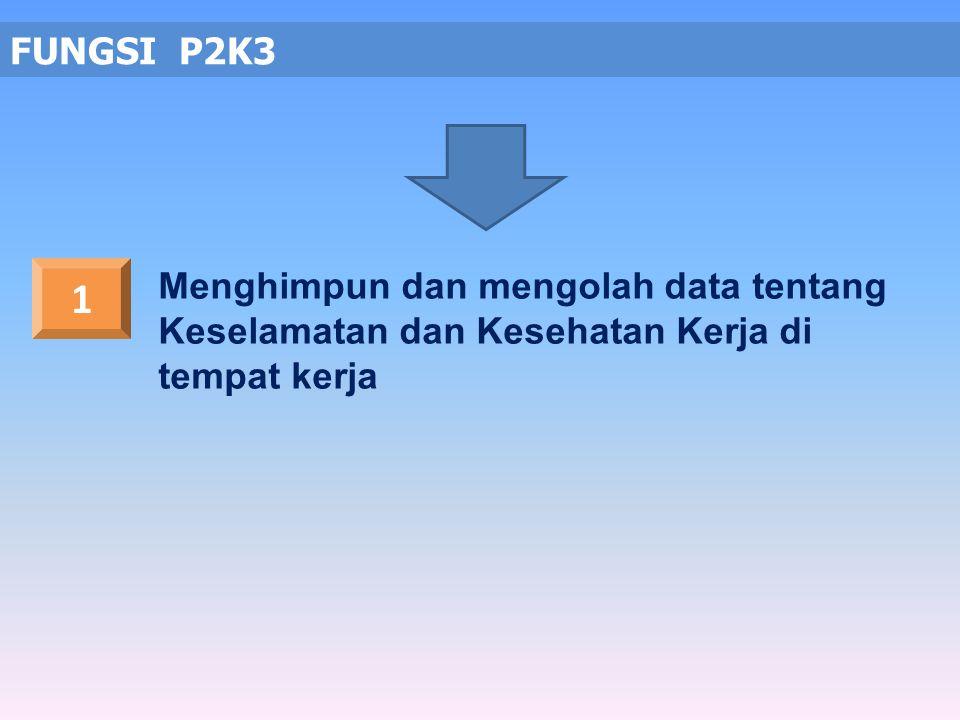 Memberikan saran dan pertimbangan baik diminta maupun tidak kepada pengusaha/pengurus mengenai masalah K3 TUGAS P2K3